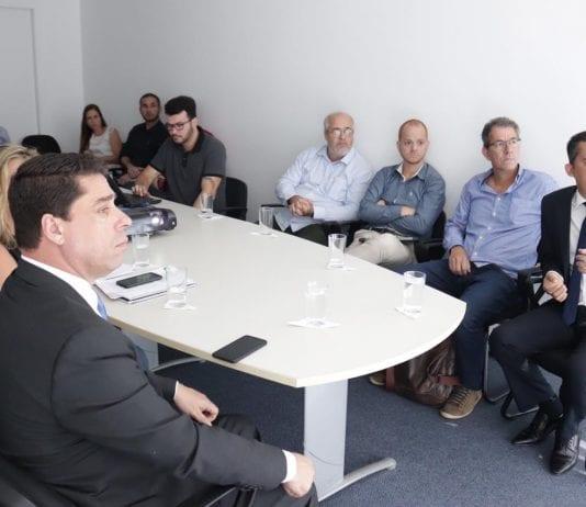 Técnicos da Eco 101, Sedurb, Abenc, Coinfra e prefeitura de Viana se reúnem para solucionar alagamentos em rodovias