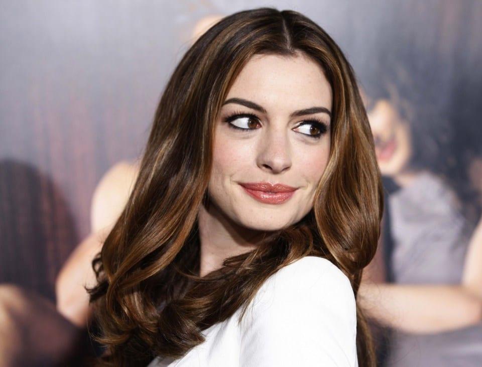 33. Anne Hathaway