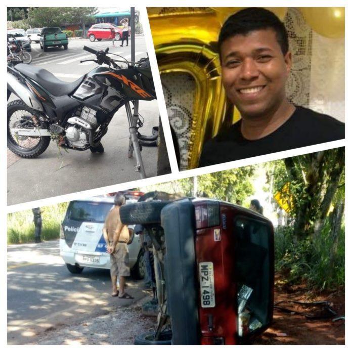 Motociclista perde braço em acidente na Rodovia Cachoeiro x Atílio Vivacqua