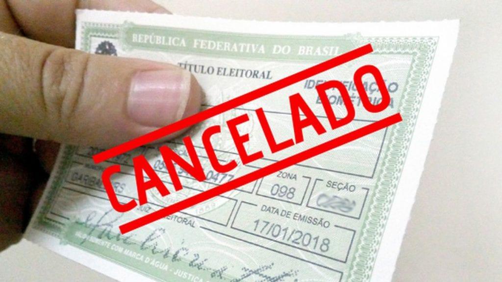 Sem biometria, 175,8 mil títulos eleitorais são cancelados na região